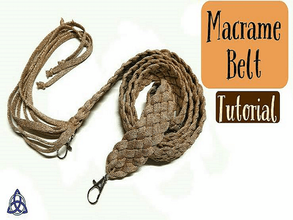 Macrame Belt Tutorial by Macrame Magic Knots