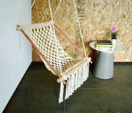 Macrame Hanging Chair Pattern by Cut Out And Keep