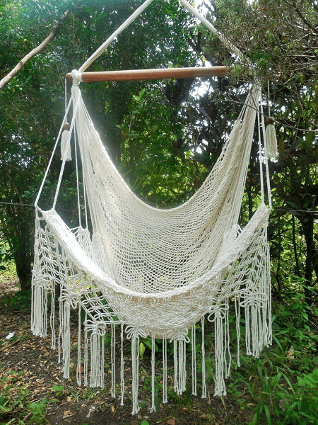 Macrame Large Hammock From Hammocks Nica