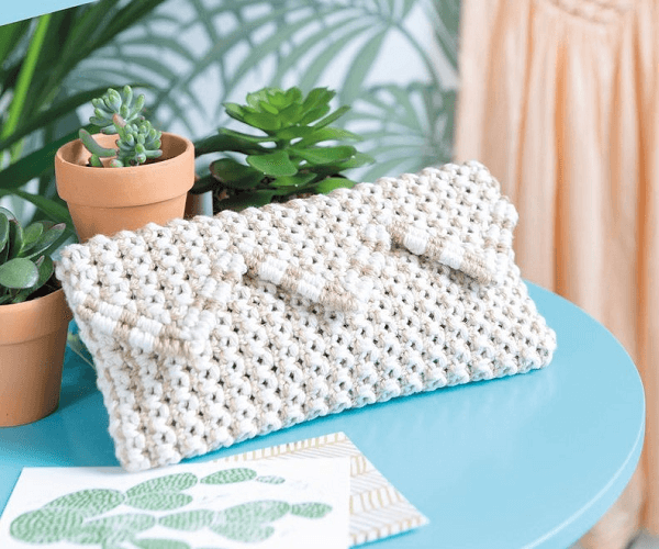 Macrame Purse Pattern by David And Charles