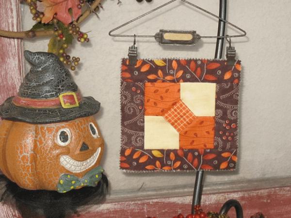 Mr. Jack's Bowtie Quilt Block Pattern by Claudia Vess