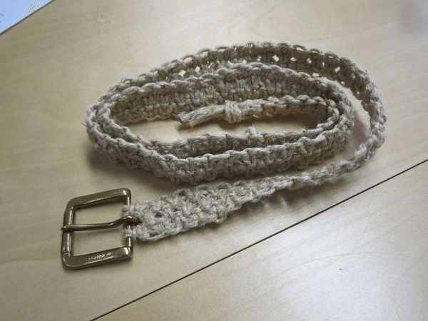 Square Knot Macrame Hemp Belt by Instructables