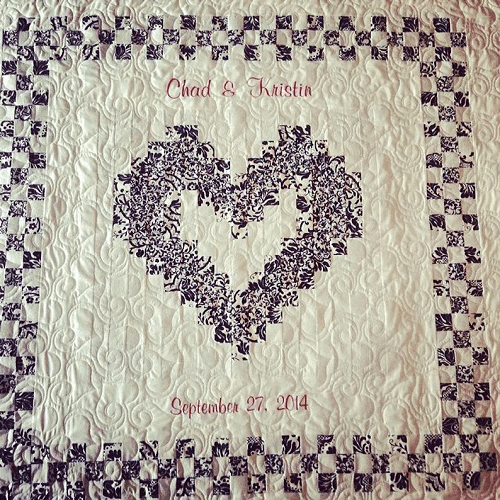 Wedding Quilt Pattern by Sweet On Stitches Etsy