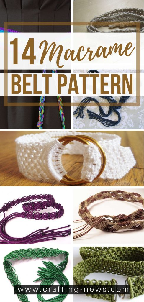 14 Macrame Belt Pattern