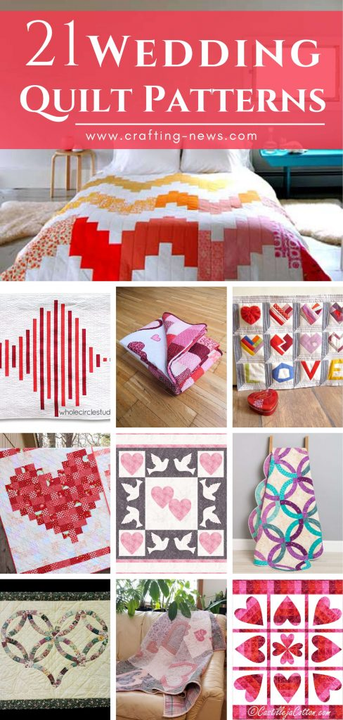 21 Wedding Quilt Patterns