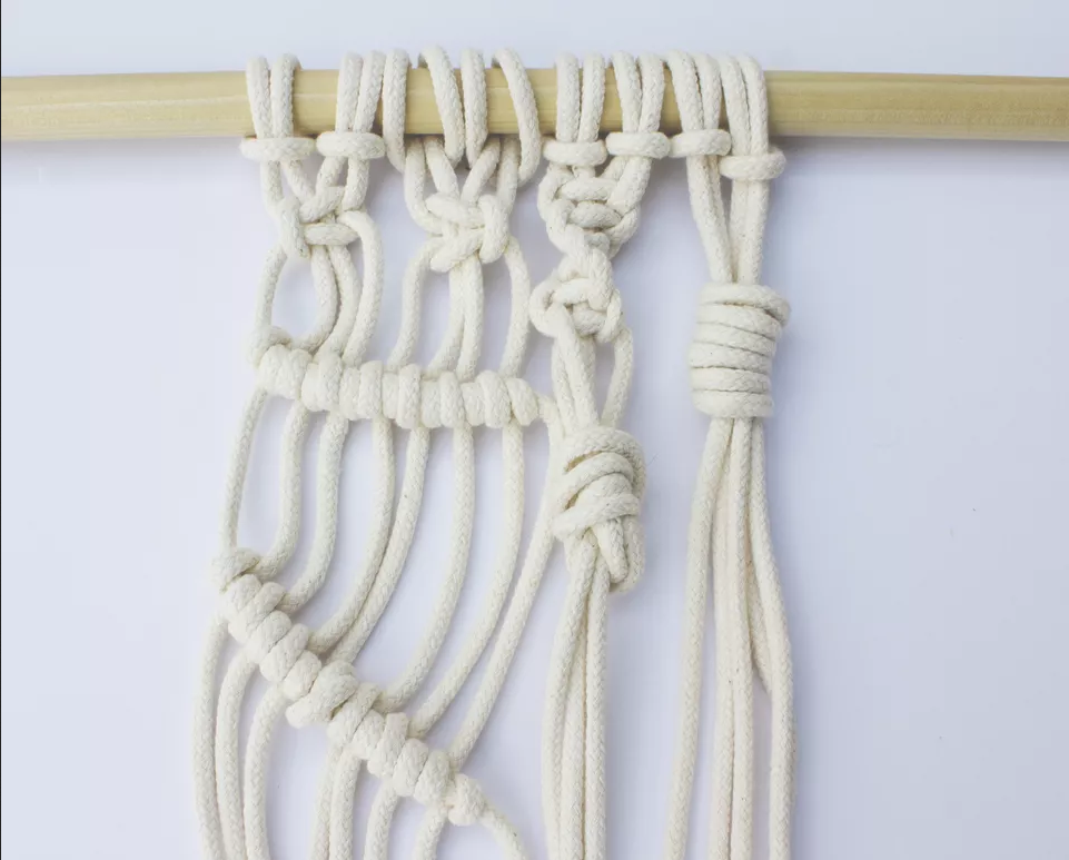 Basic Macrame Knot Patterns Tutorial | Written