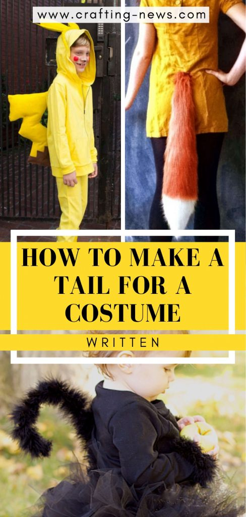 How to Make A Tail For A Costume | Written