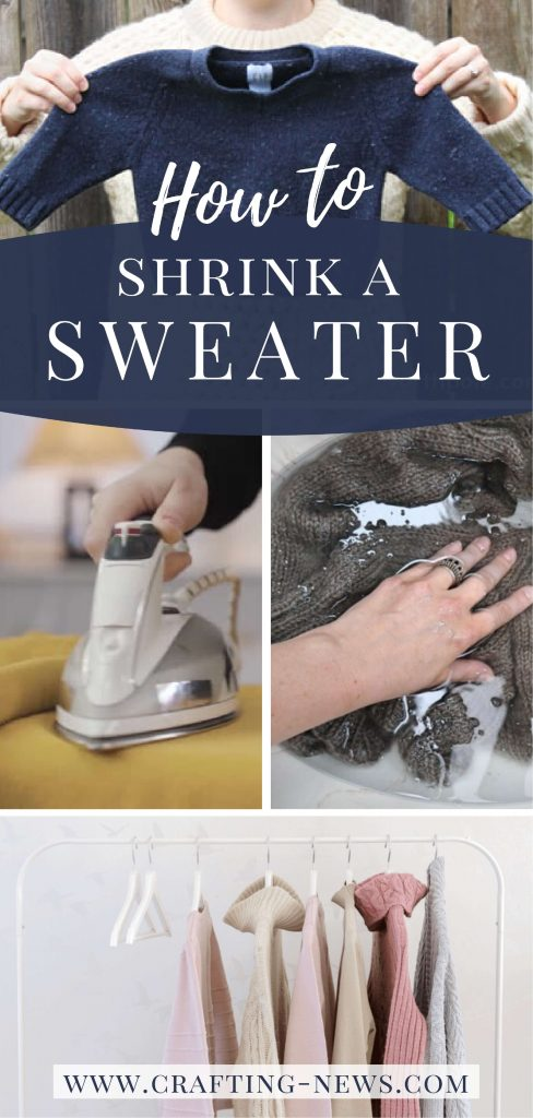 How to Shrink a Sweater Written