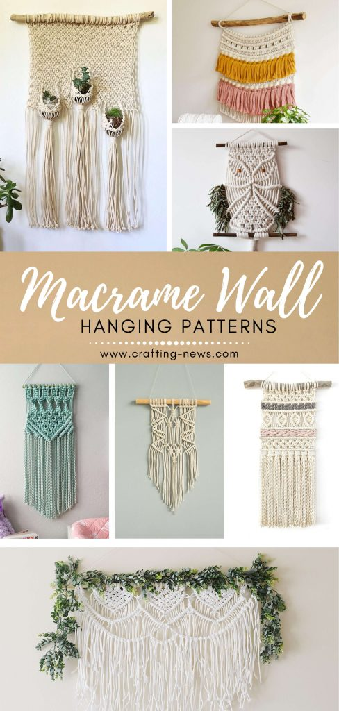 Macrame Wall Hanging Patterns