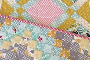 Mini Trip Around the World Quilt Pattern