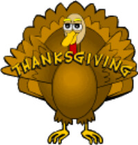 Thanksgiving Clip Art fro Kids by the Kids Page