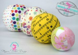 easy perfect ball sphere sewing pattern