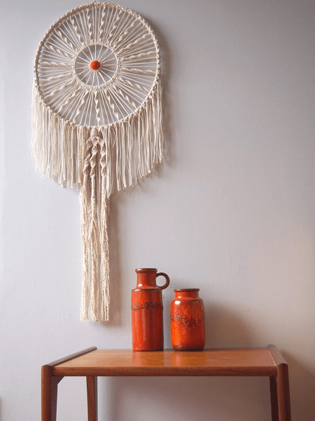 Macrame Dreamer Wall Hanging Pattern by Collective Gen