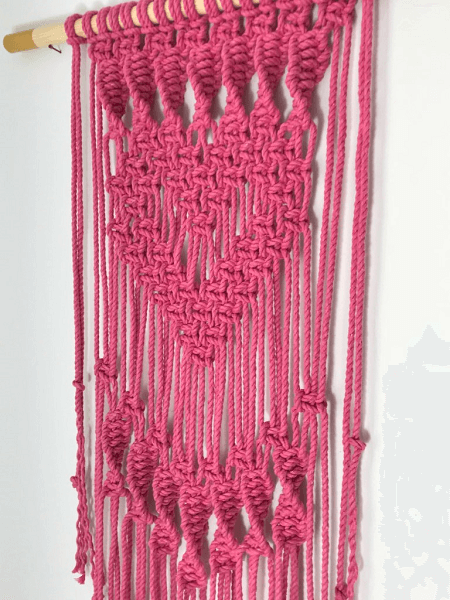 Macrame Wall Hanging Pattern by My French Twist
