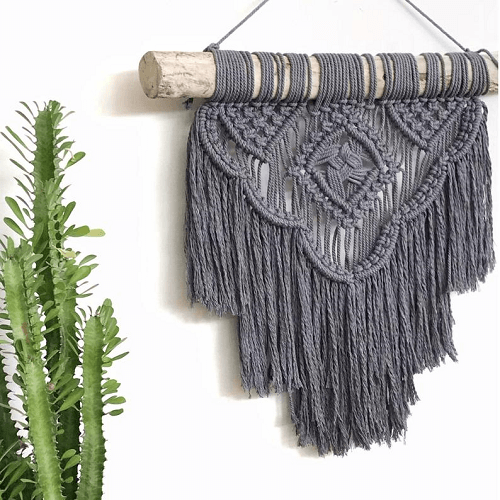 Macrame Wall Hanging Pattern by Home Vibes Macrame
