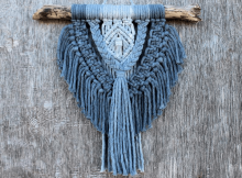 Ombre Macrame Wall Hanging Pattern by Honalee Studio