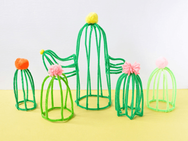 Pipe Cleaner Cacti by Handmade Charlotte