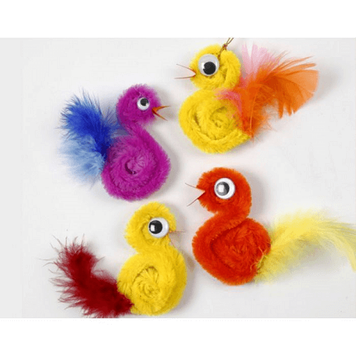 Pipe Cleaner Chics by Little Crafty Bugs