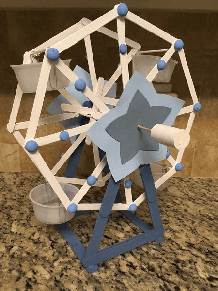 Popsicle Stick Ferris Wheel by AJ Amino Amino