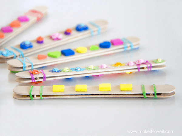 Popsicle Stick Harmonicas by Make It Love It