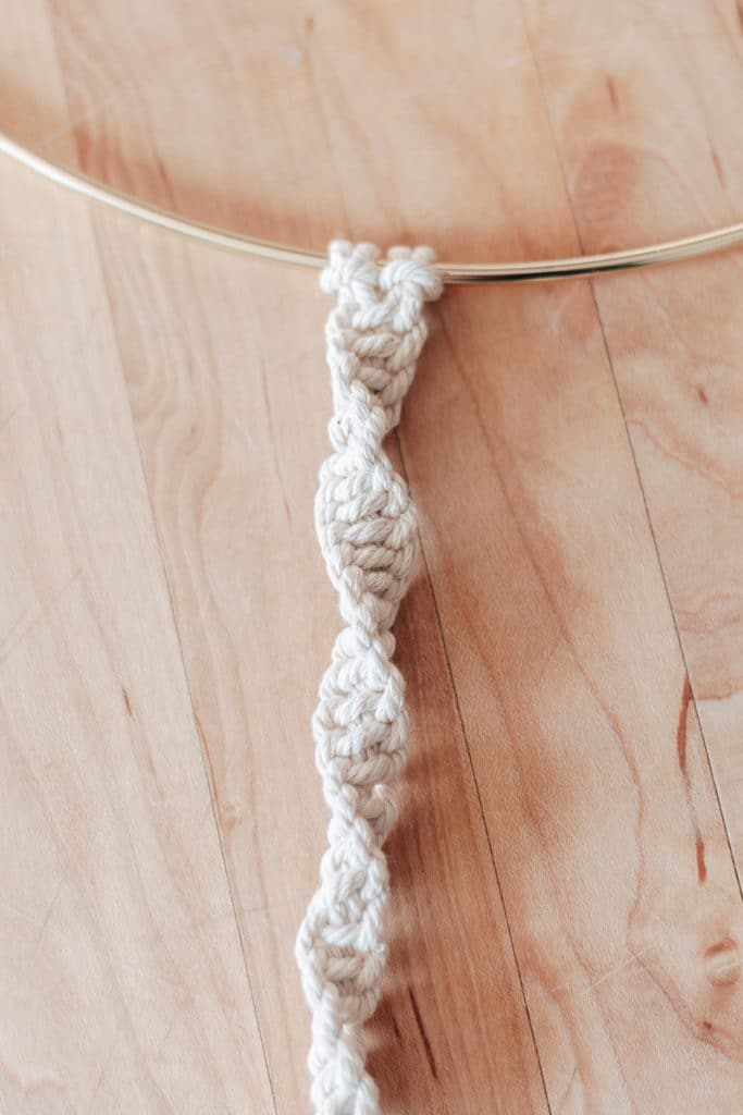 spiral knot basic macrame knot patterns