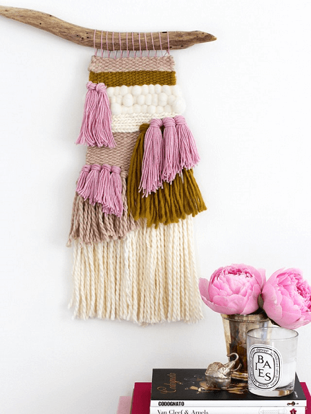 Woven Macrame Wall Hanging Pattern by Honestly WTF