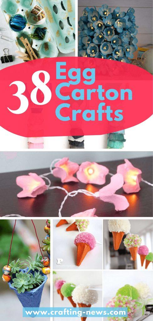 38 Egg Carton Crafts
