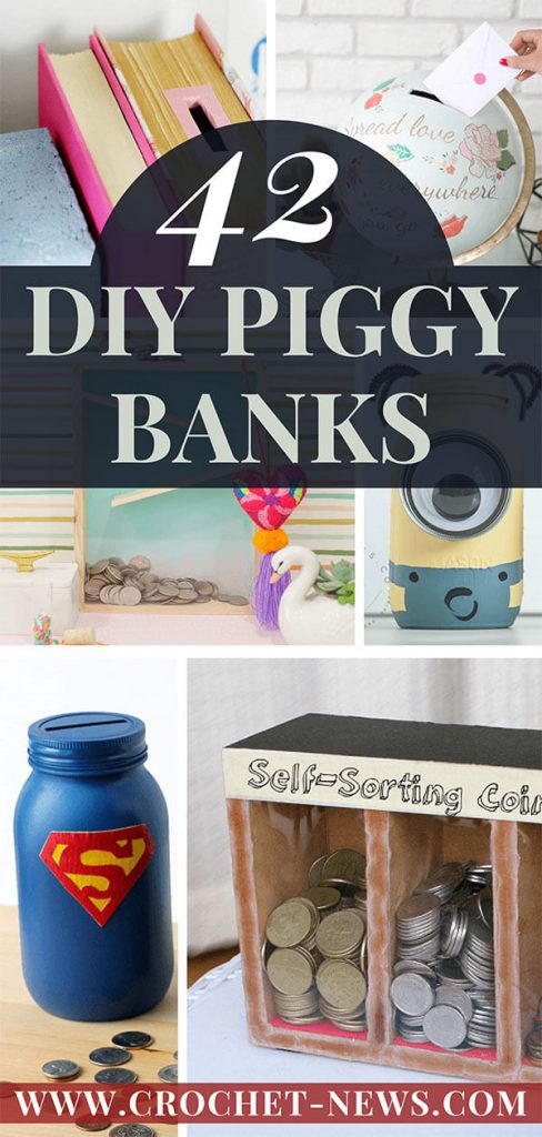 42 DIY Piggy Banks