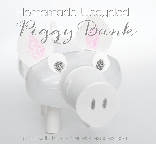 DIY Piggy Bank by Penelope's Oasis