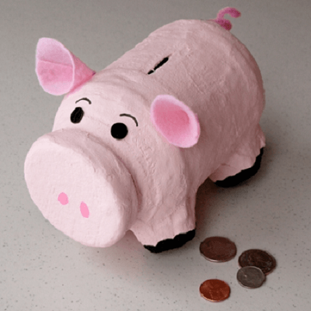 Diy Piggy Bank by Disney Family