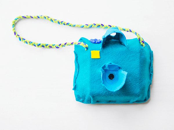 Egg Box Toy Camera by Let's Do Something Crafty