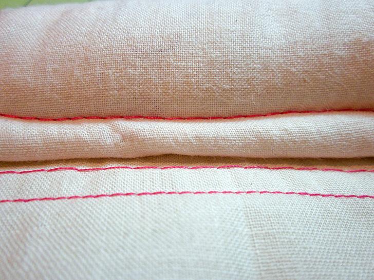 machine baste sewing