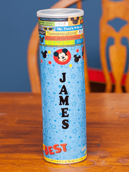 Pringles Can Piggy Bank by Jennifer Williams