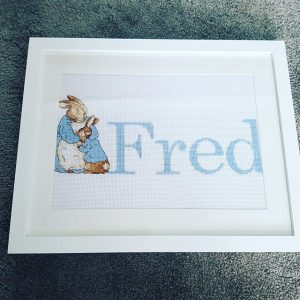 Beatrix Potter Cross Stitch for baby room