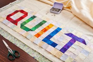 basic sandwich quilting