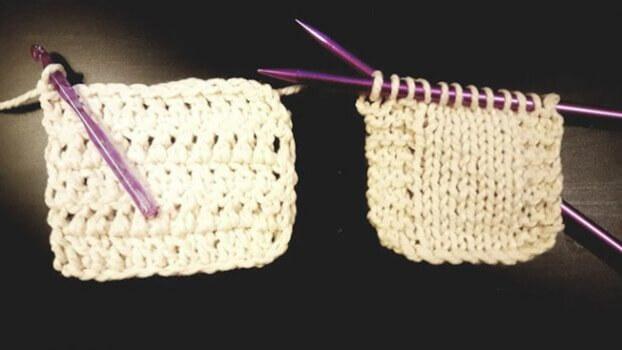 Knitting Vs Crochet By Jjcrochet