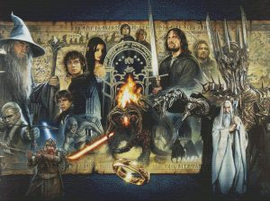Lord of the Rings Cross Stitch Pattern