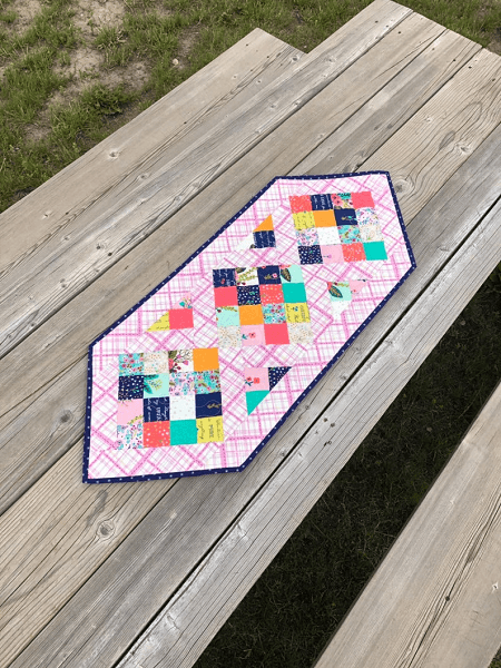 To The Point Table Runner Quilt Pattern by Berry Birdy