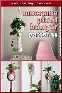 MACRAME PLANT HANGER PATTERNS CRAFTING NEWS