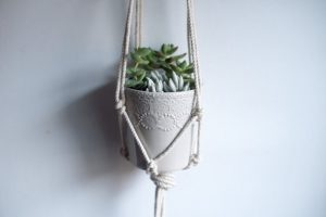 Free  Macrame Plant Hanger Pattern by Likely by Sea