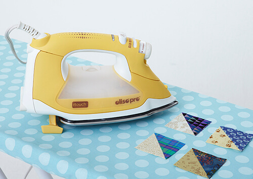 Pressing Quilting Blocks By All People Quilt