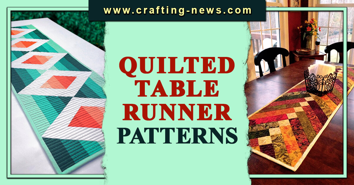 QUILTED TABLE RUNNER PATTERNS