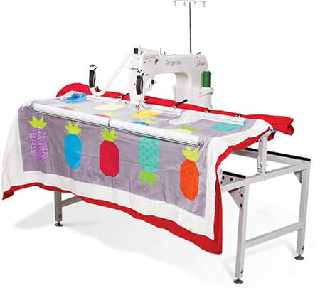 Grace Q'Nique 15R Stitch Regulated Long Arm Quilting Machine from Amazon