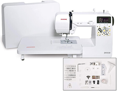 Janome JW8100 From Amazon