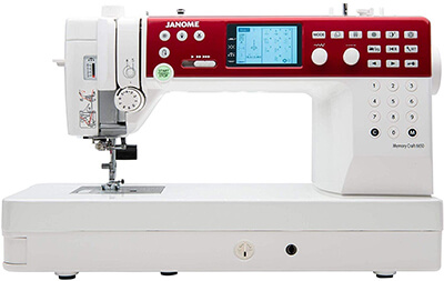 Janome Memory Craft 6650 From Amazon