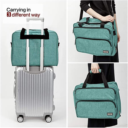 Carry your Sewing Machine Bag in Different Ways From Amazon