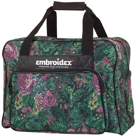 Embroidex Floral Sewing Machine Carrying Case From Amazon