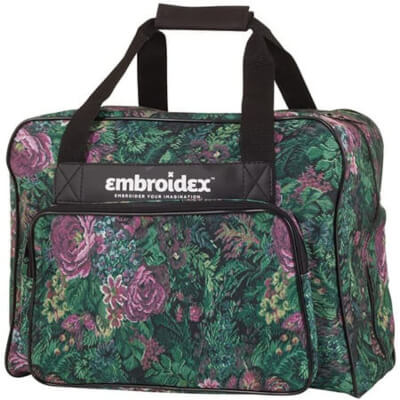 Embroidex Floral Sewing Machine Carrying Case