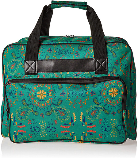 Janome Paisley Universal Sewing Machine Tote Bag From Amazon