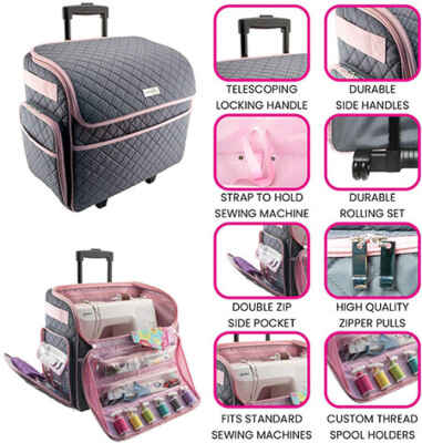 Sewing Machine Bag Compartments